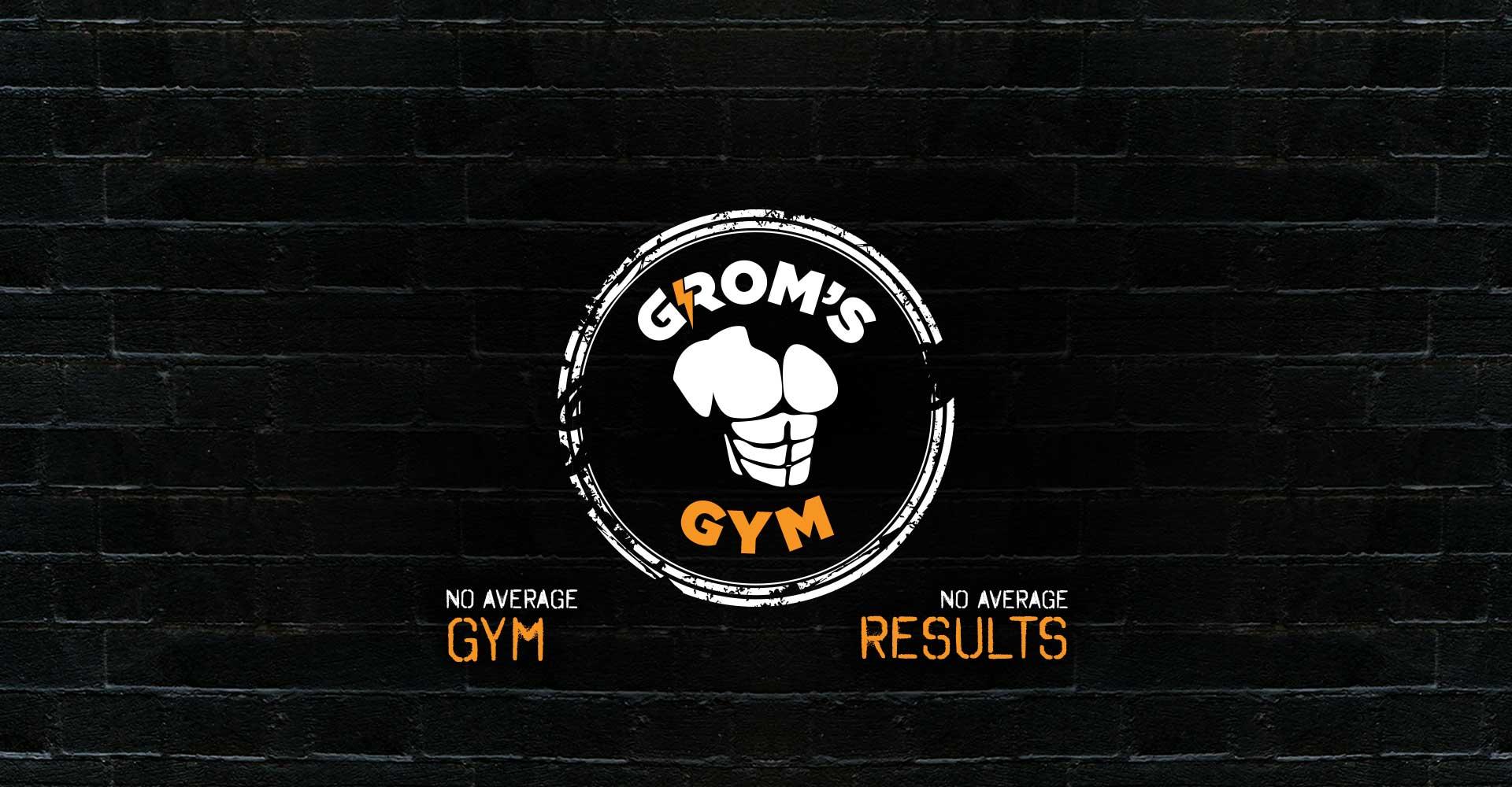 Grom's Gym slider